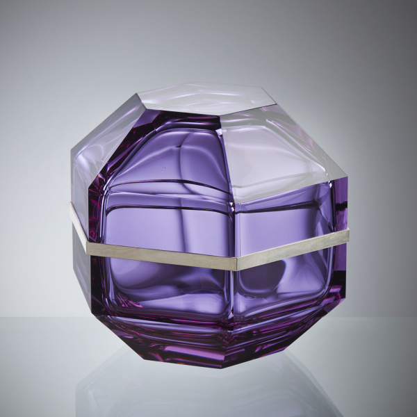 Dome Alexandrite Glass Object