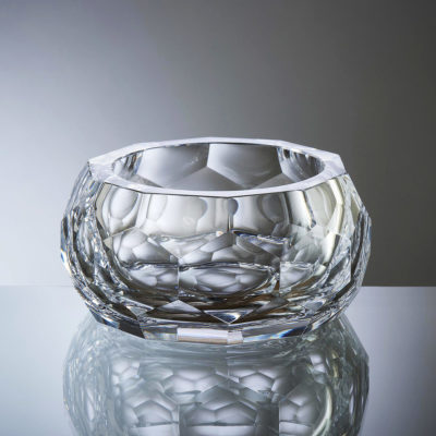 Goldberg Honeycomb Bowl Crystal