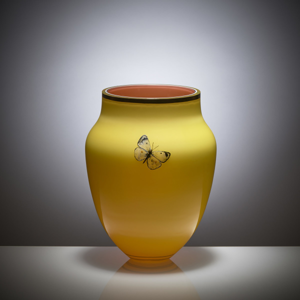 Goldberg Butterfly Collection Vase